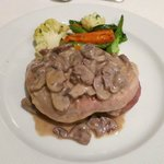Fillet with Mushroom Sauce
