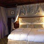 bedroom in mont blanc suite