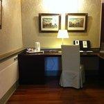 Desk area in the junior suite