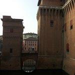 L'hotel tra le mura del castello....
