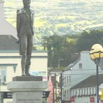 Close-up of Statue in Bantry