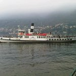 A typical boat on Lake Como....