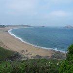 la plage, l'ile Besnard