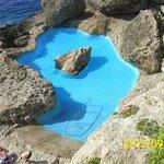 Rock pool.