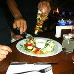 Tequila Shrimp Kabob New Potatos