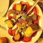 Bresaola, mozzarella di bufala e tartufo nero