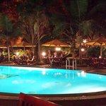Dinner - pool
