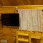 Inside Camping Cabin