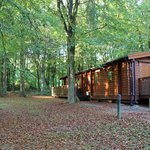 Lodges have plenty of space