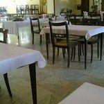 La salle de restaurant au 1er étage
