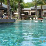 Lovely infinity pool area