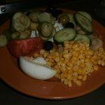 Lido restaurant salad