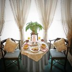 breakfast in your suite -the St Croix