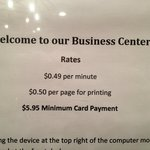 Business Center Prices