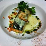 Fresh supreme of Salmon