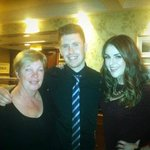 Television presenter Síle Seoige in tonight for bite to eat, absolute class act