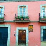 Casa San Bartolome - front door