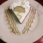 Key lime pie was great