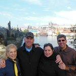 THE DOUGLAS FAMILY IN PRAGUE OCTOBER 2013