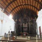 inside the chapel beside hotel