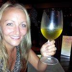 Huge wine glasses!!