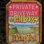 start of Pillbox hike