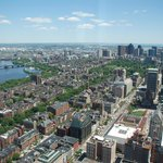 View of Boston Public Garden/Common from Skywalk Observatory