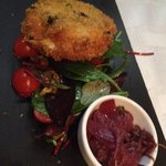 Breaded Goats Cheese Starter