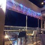 Sky bar at night