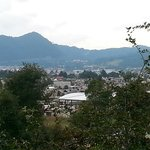 Vista desde el jardín Moxviquil, un lugar hermoso; agradecemos las atenciones