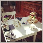 Amazing welcome of afternoon tea