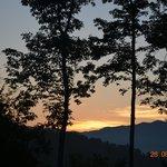 Sunrise over Doe Mountain