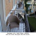 Balcony on 405.