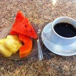 Desayuno incluido en el precio del hotel