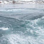 Whirlpools at Saltstraumen
