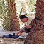Ashraf - Making lunch