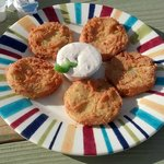 Delicious Fried Green Tomatoes.