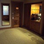 room tea - fridge area