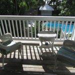 Shared veranda