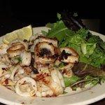 Grill calamari