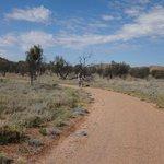 Simpsons Gap Bike Track