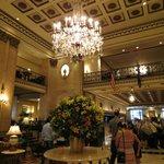 Lovely lobby area