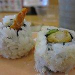 My favorite shrimp tempura sushi roll