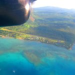 Flying from Taveuni