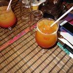 Cocktail au Luigis Grand Baie