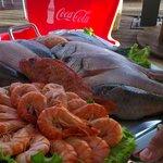 Fresh local fish