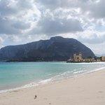 Mondello strand, oktober 2013