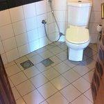 the spa toilet