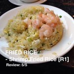 FRIED RISE; Shrimp Fried Rise