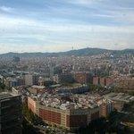 Vistas ciudad desde la habitación
